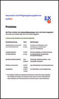Download Preisliste